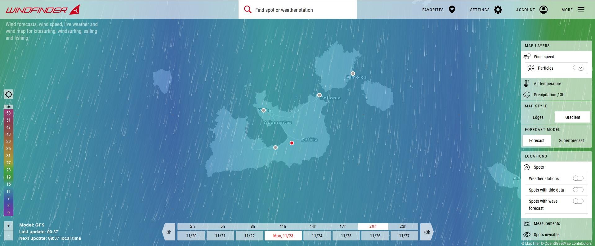 Weather-forcast-milos-marin
