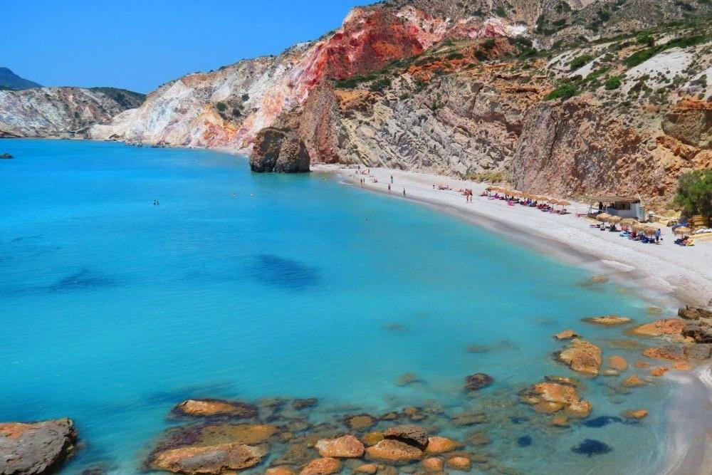 Firiplaka Milos Island