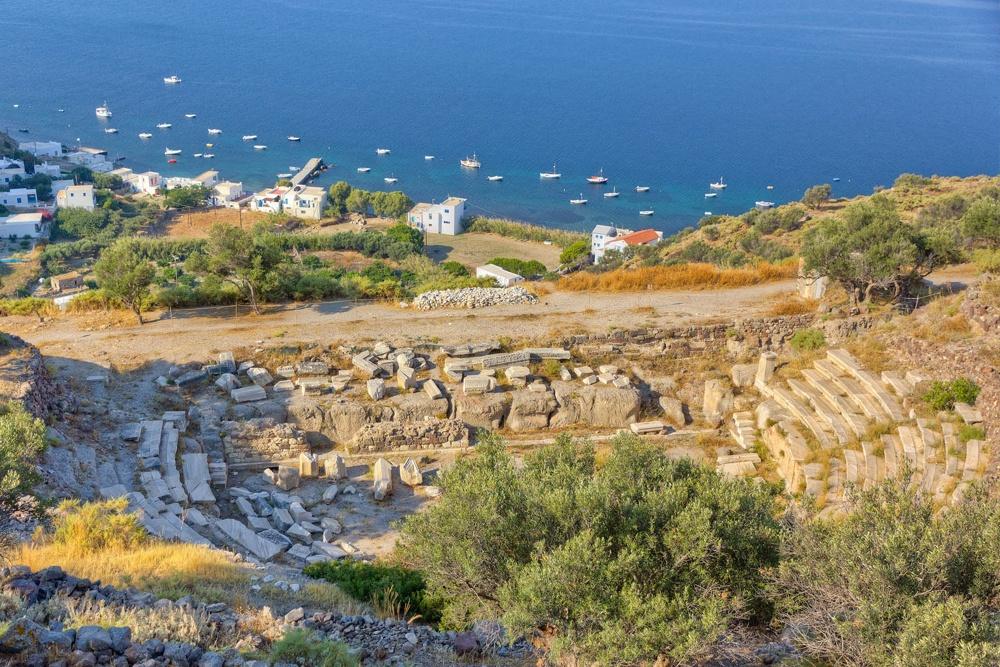 Ancient Theater Milos Island