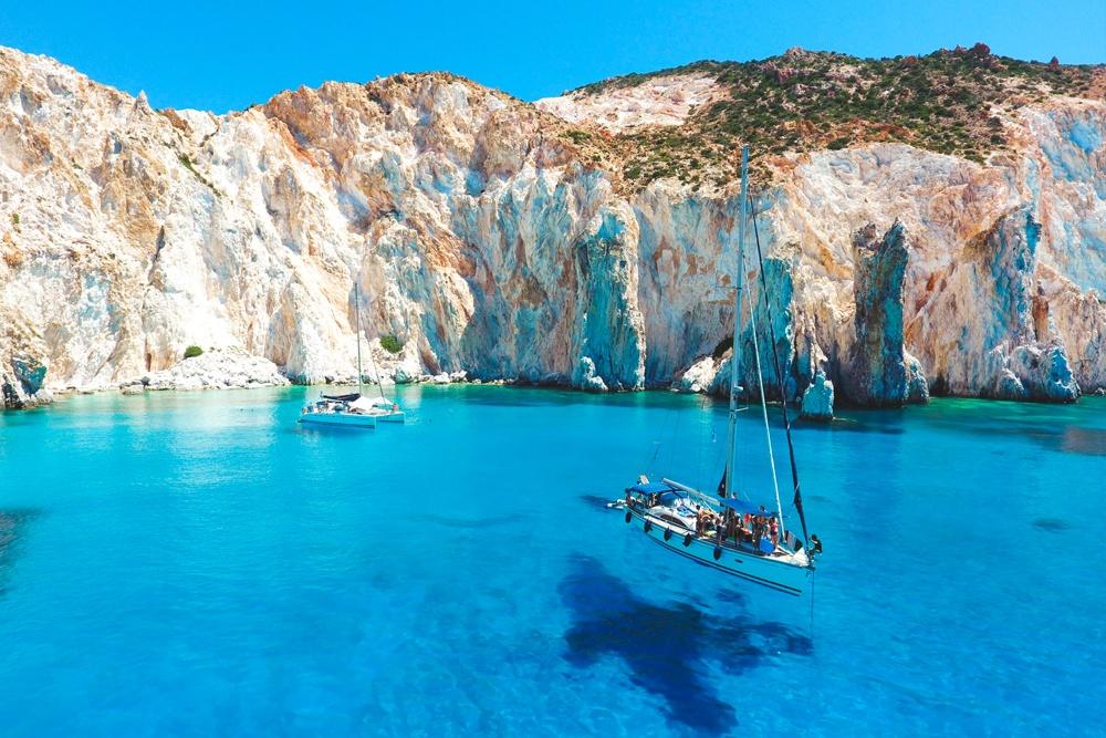 Polyegos Milos Island