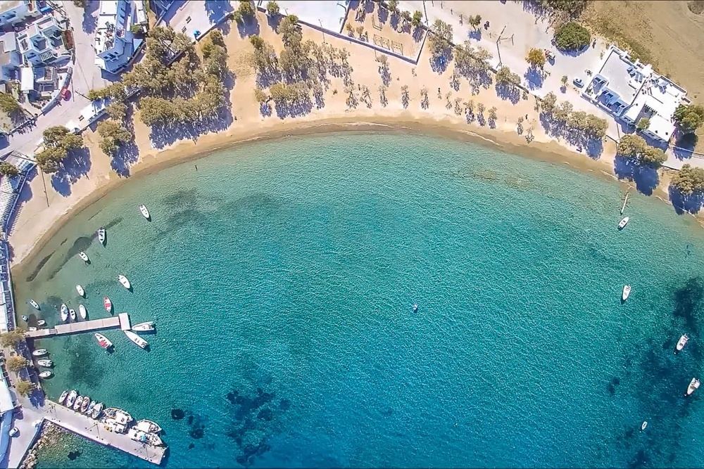 Pollonia Milos Island