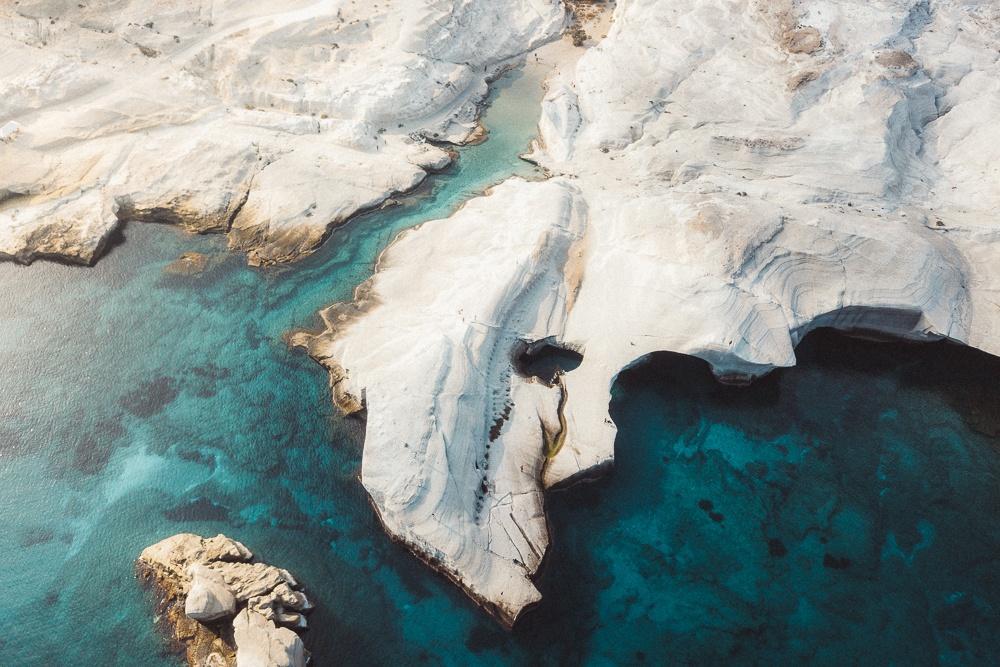 Sarakiniko Milos Island