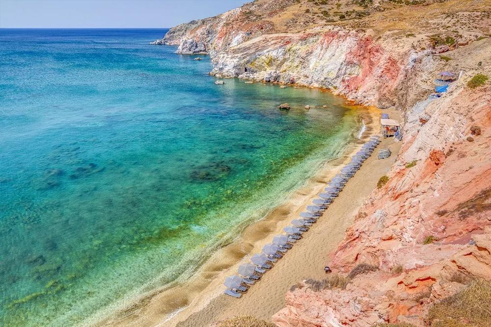 Paleochori Milos Island
