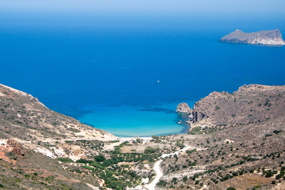 Plathiena Milos Island
