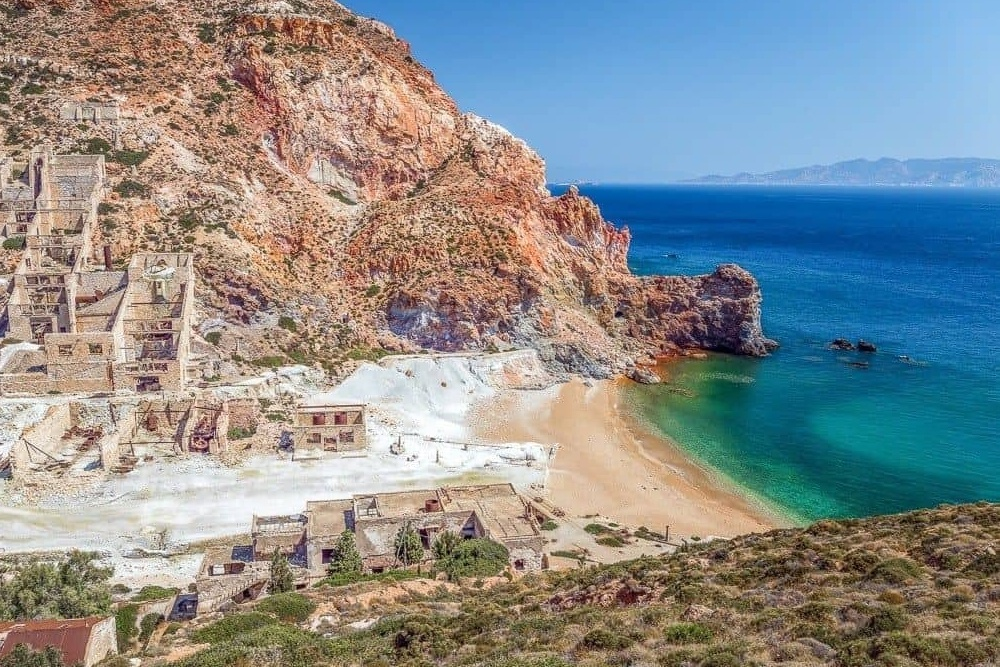 Sulphur Mine Milos Island